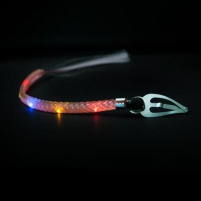 Świecący, migający warkoczyk LED