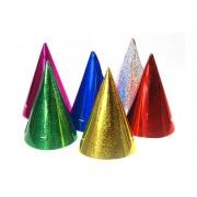 Czapeczki holograficzne mix kolorów