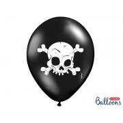 Balony 30 cm, Czaszki na Halloween