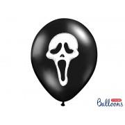 Balony 30 cm, Krzyk na Halloween