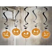 Świderki Dynie na Halloween 5 sztuk