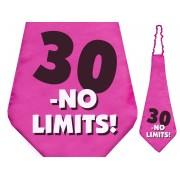 Krawat 30 - No Limits na 30 - te urodziny