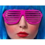 Okulary Żaluzje różowe
