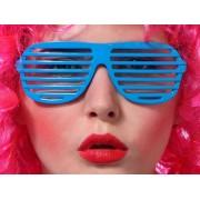 Okulary Żaluzje turkusowe