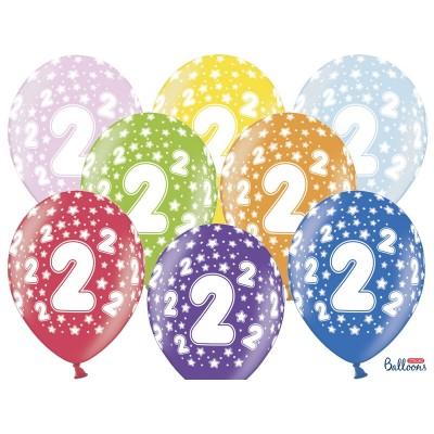Balony na Drugie Urodziny z nadrukiem 2
