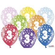 Balony na Trzecie Urodziny z nadrukiem 3