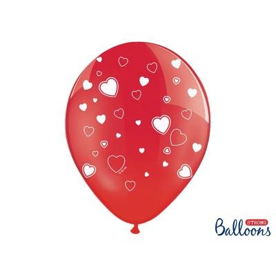 Balony z sercami 30 cm