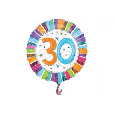 Balon foliowy 30 na trzydzieste urodziny