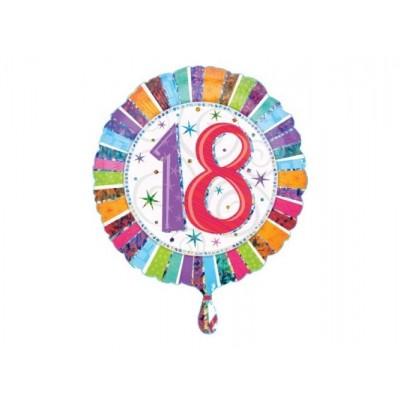 Balon foliowy 18 na Osiemnastkę
