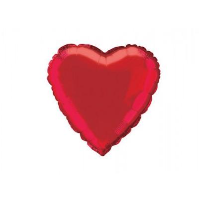 Balon foliowy Czerwone Serce 47 cm