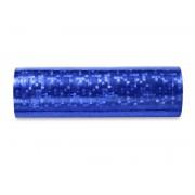Serpentyna holograficzna, niebieski, 3,8m